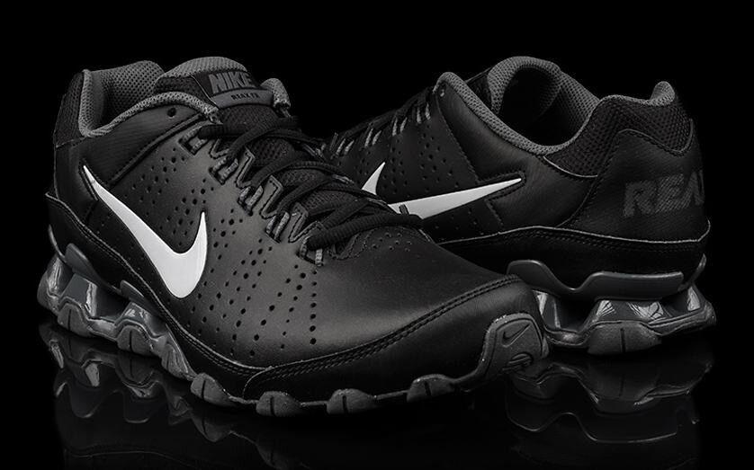 NIB Men's Authentic Nike Reax TR 9 LTD Tavas Running  Shoes Sneakers  Blk