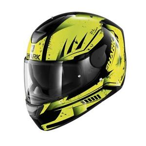 2018-Shark-D-Skwal-Dharkov-Motorcycle-Full-Face-Helmet-KYA-Black-Yellow