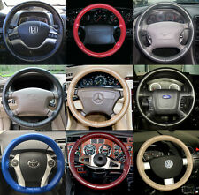 EuroTone 2 Color Leather Steering Wheel Cover 1965-2015 Ford  Wheelskins