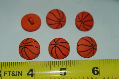 12 botones de baloncesto Coser