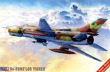 SUKHOI Su 22 (Su-20 M2) FITTER F (LIBYAN, PERUVIAN & SOVIET AF) 1/72 MISTERCRAFT