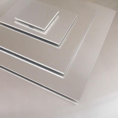 Platte 14,32 €//m Aluminium Blech 412x131x2mm Zuschnitt AlMg3 Alublech Alu