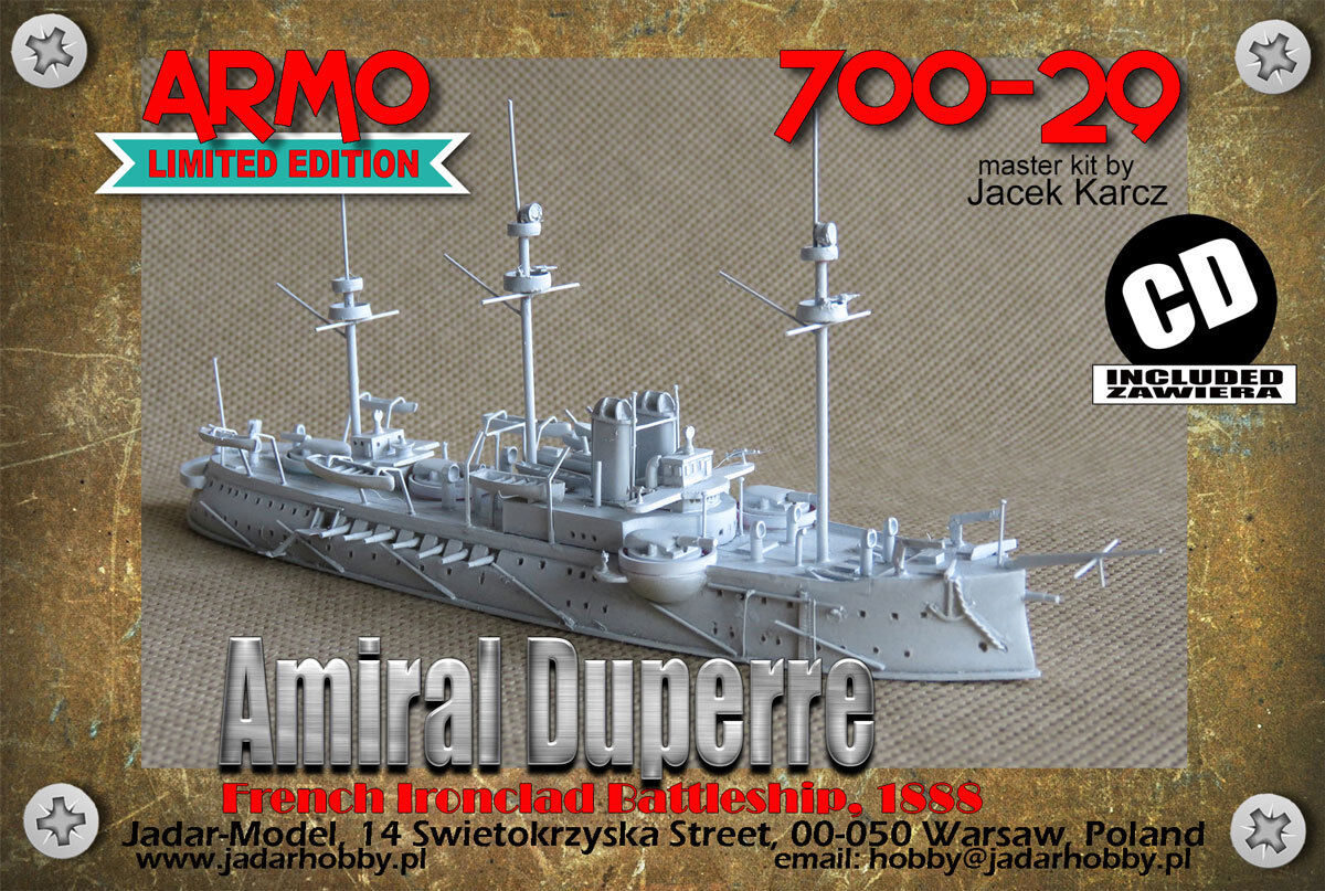 Armo 700-29 1 700 French Ironclad Amiral Duperre (ARMO)