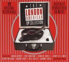 THE LONDON AMERICAN EP COLLECTION (CHUCK BERRY, JOHNY CASH,...) 3 CD NEU