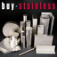 150 X 10 Grade 304 Stainless Steel Flat Bar *** ANY LENGTH ***