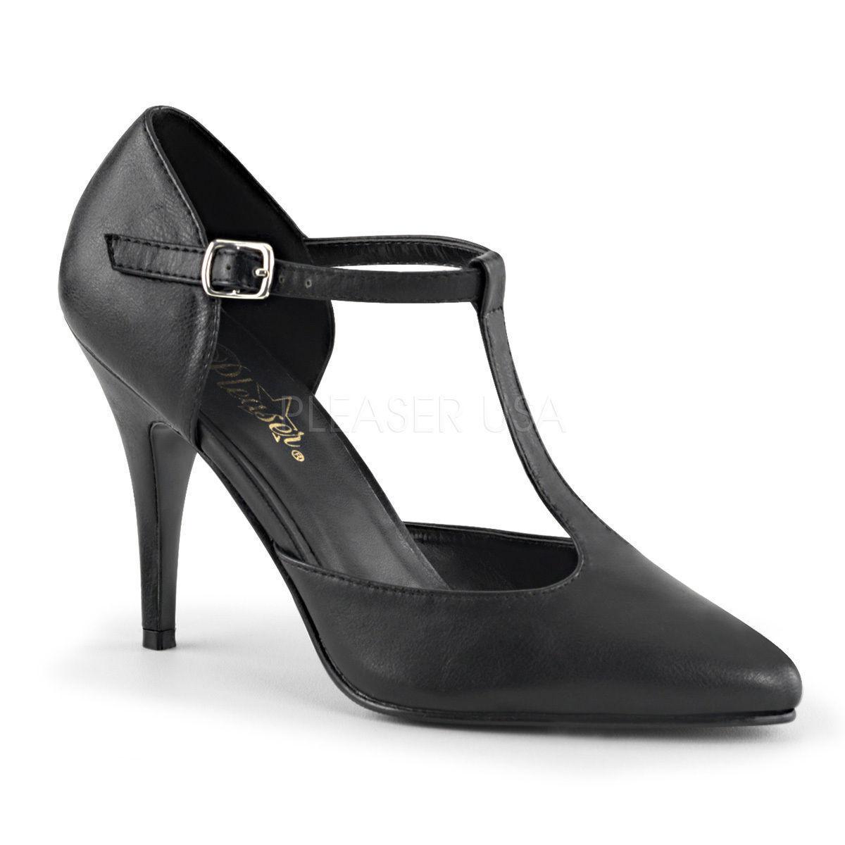 Los últimos zapatos de descuento para hombres y mujeres Vanity - 415 eróticos Pleaser señora tacón alto de salón con tiras negro Gr 35-47