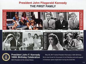 Grenadines Grenada 2017 MNH JFK John F Kennedy 100th Birthday 6v M/S III Stamps