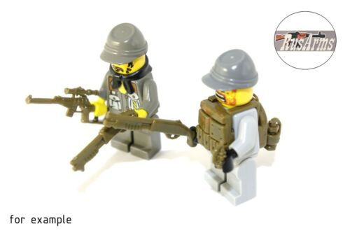 Khaki Weapons for LEGO minifigs Details about  /Set 18.1 New Items in March 2016 RusArms