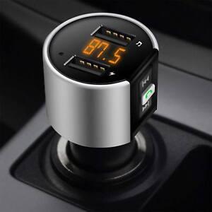 Wireless Car Kit FM Transmitter Radio MP3 Player USB Charger Handsfree Bluetooth