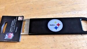 NFL-Pittsburgh-Stealers-Football-7-Steel-Vinyl-Coated-Bottle-Opener-NEW