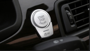 For BMW 5 Series F10 GT 2011-2015 Console Engine Start Push Button Cover Tri