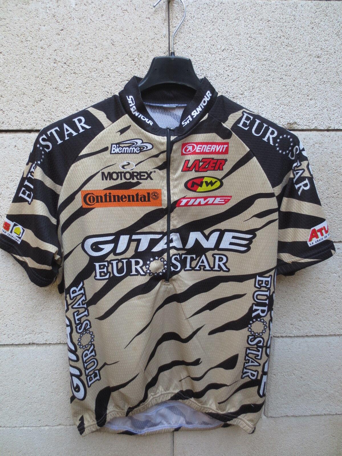 Maillot cycliste GITANE EUROSTAR Biemme cyling jersey shirt M maglia camiseta