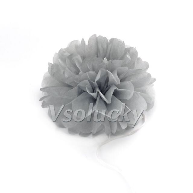 15cm 20cm 25cm 38cm Tissue Paper Pom Poms Flower Ball Wedding Party Decorations