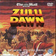 ZULU DAWN -  Burt Lancaster, Peter O'Toole, John Mills - DVD