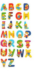 lettre en bois alphabet décoration porte chambre enfant bébé nom ...