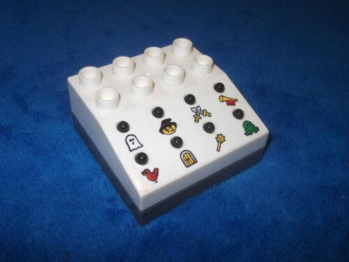 LEGO DUPLO Théâtre module 8 bruits Fantôme Sorcière Chevalier Magique grenouille de 3615