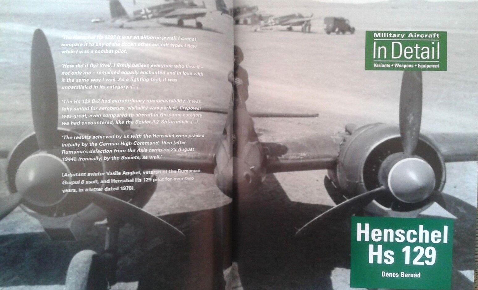 HENSCHEL HS129 BY DENES BERNAD- MILITARY AIRCRAFT IN DETAIL