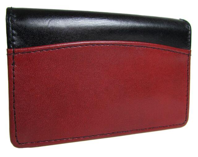 Buxton Unisex Leather Business Card Holder Organizer Ebay