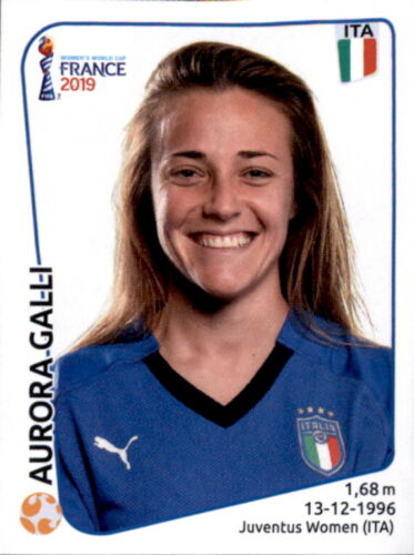 Italien Aurora Galli Panini Frauen WM 2019 Sticker 204