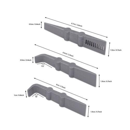 4 Teilige Auto Verpackung Kit Filz Rakel Mini Schaber Car Wrapping Aufkleber DE