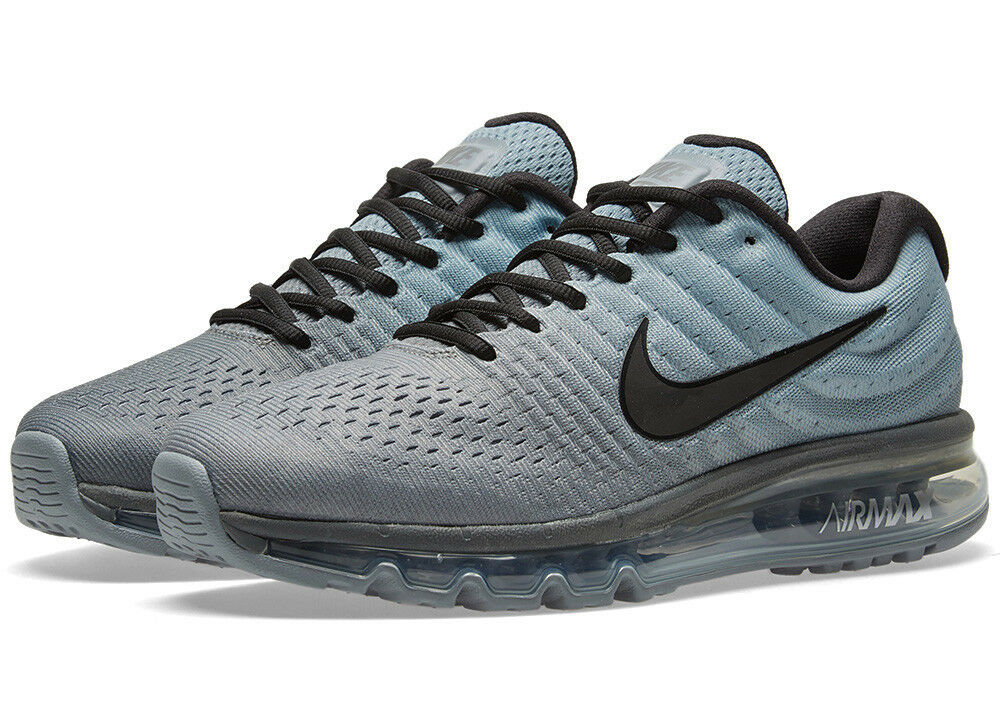 NIKE AIR MAX 2017 TUMBLED GREY/STEALTH GREY/STEALTH GREY/STEALTH Gr.45 US 11 prm 849559-003 flyknit 2016 6033aa