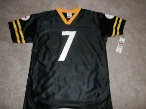 63530f65d Image is loading PITTSBURGH-STEELERS-BEN-ROETHLISBERGER-JERSEY-YOUTH-18-20-
