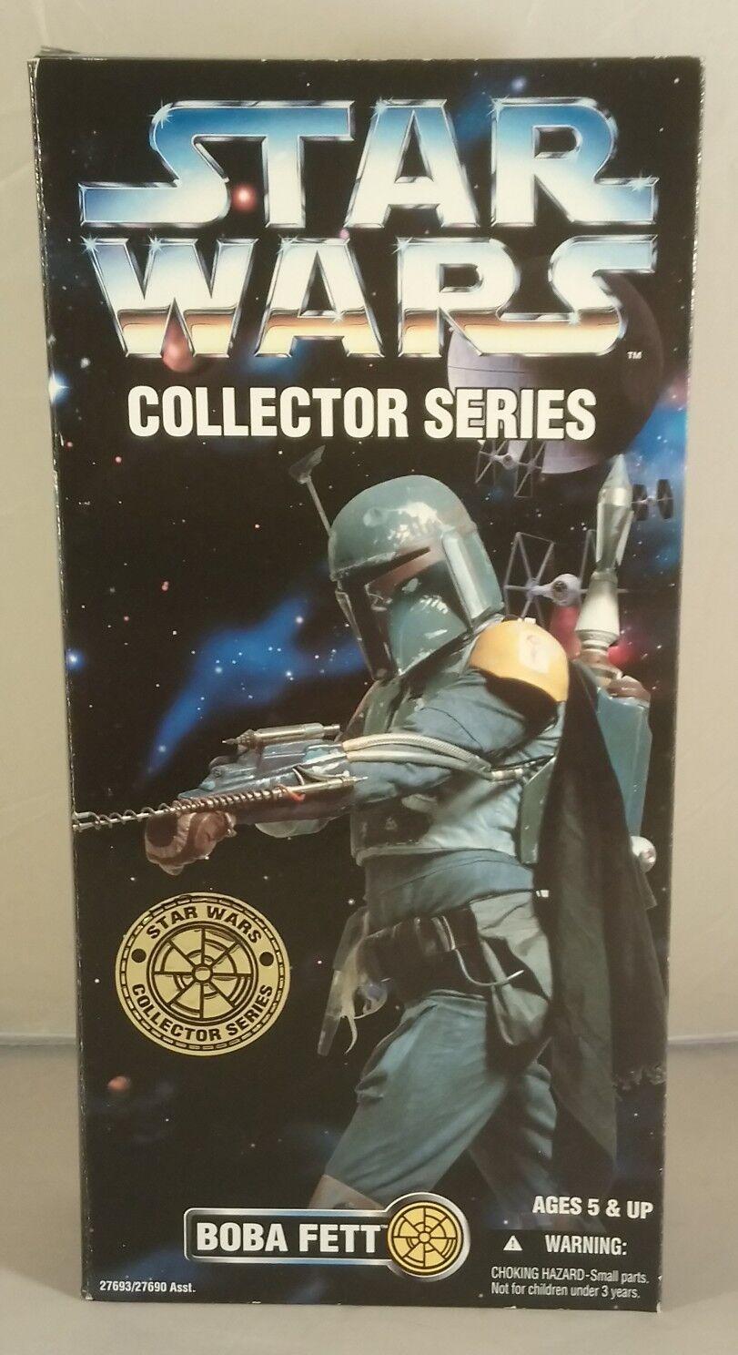 Star Wars Collector Series-Boba Fett 12  entièrement Présentoir Action Figure