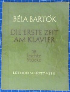 Bela-Bartok-Die-erste-Zeit-am-Klavier-18-leichte-Stuecke-E-Schott-4335-B19580