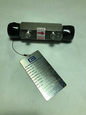 """Shower Flow Control 1//2/"""" 303 Stainless Steel Restrictor Reducer Water Saving"""