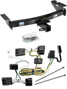 2005 2007 buick terraza trailer tow hitch w wiring kit ebay rh ebay com 4 Wire Trailer Wiring Diagram Trailer Wiring Kit