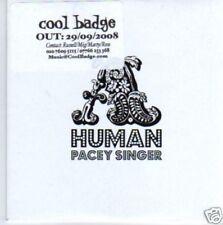 (610N) HUMAN, Pacey Singer - DJ CD