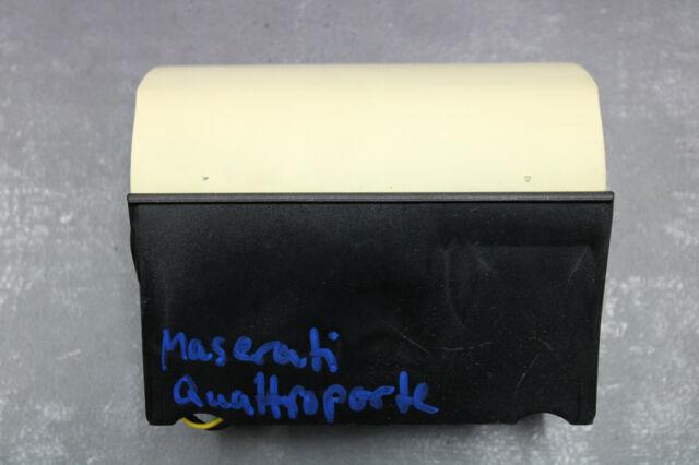 Maserati Quattroporte V Console Centrale Cendrier Calcinateur 12V Arrière 224817