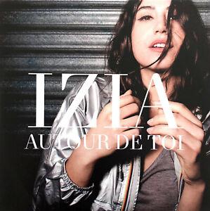 Izia-CD-Single-Autour-De-Toi-Promo-France-EX-M