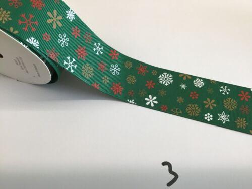 Decorative Ribbon Christmas Ribbon Various Selection  Sold by the metre