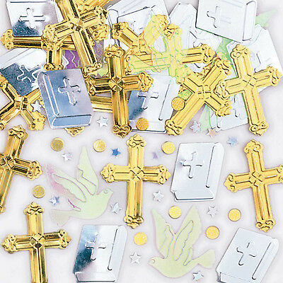 Religious Christening Communion Confetti Sprinkles Party Decorations