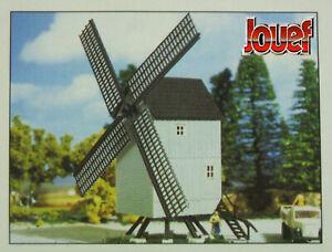 Jouef-MOULIN-A-VENT-Maquette-kit-Neuf-a-monter-HO-1-87