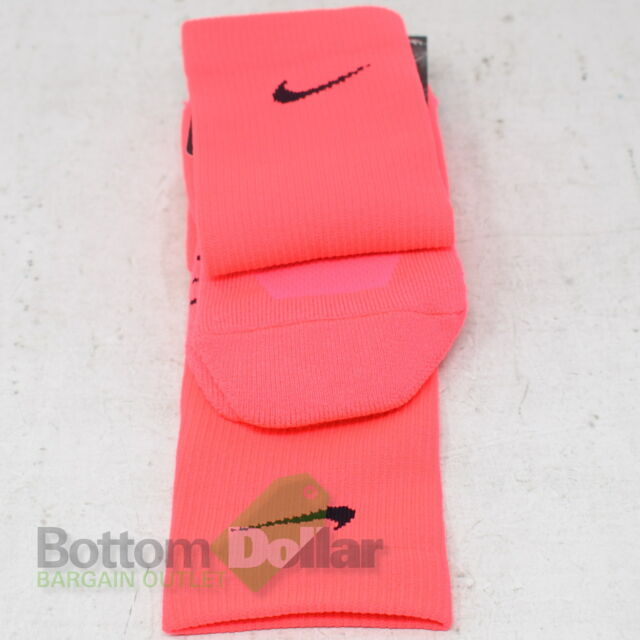 Nike Dri Fit Crew Socks Neon Medium