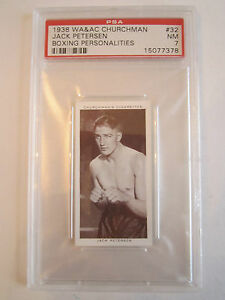 1938-JACK-PETERSEN-BOXING-CHURCHMAN-PSA-GRADED-7-NEAR-MINT-CARD