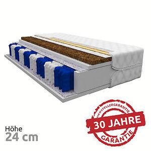 matratze saphire 24 cm 7 zonen 140x200 kokos premium. Black Bedroom Furniture Sets. Home Design Ideas