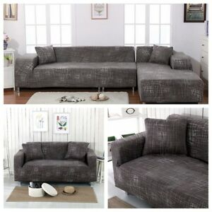 Image Is Loading Us Perfect Fit 3 Seater And L Shape