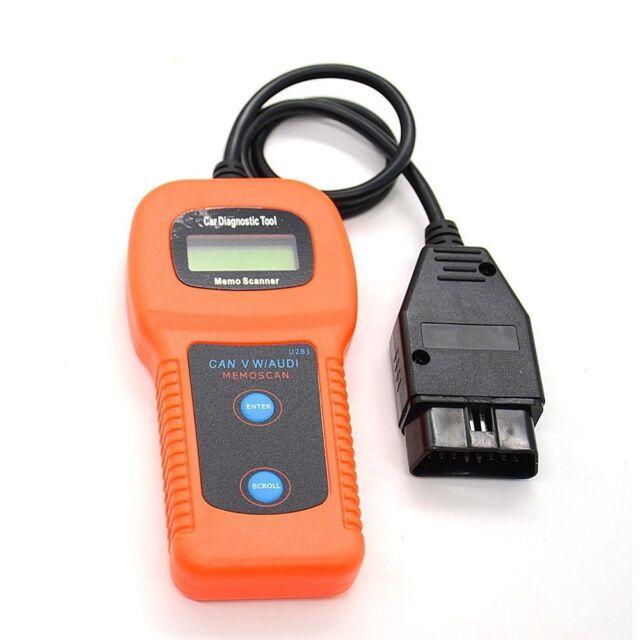 U280 OBD2 OBDII Scanner Diagnostic Code Reader for VW//Audi//SEAT// SKODA OBD2