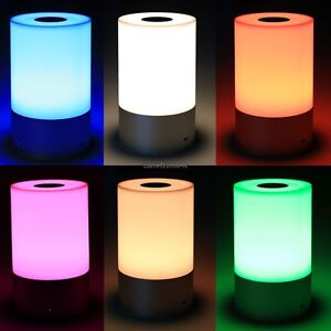 Image Is Loading Led Bedside Lamp Touch Table Dimmable Warm