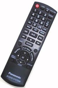 Genuine Panasonic N2QAYB000640 Audio Remote SC-HC25 SC-HC25DB SC-PM500 SA-PM500