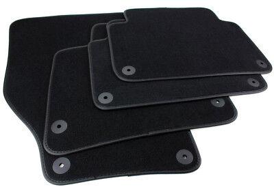 ab 06.15 Fußmatten Velour Automatten 4x schwarz Passend für Audi Q7 4-tlg