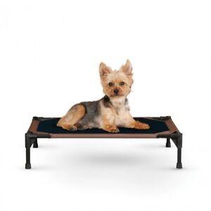 KH-Mfg-Pet-Dog-Cat-Cot-Indoor-Outdoor-Elevated-Raised-Waterproof-Bed-SMALL