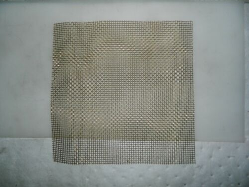 "Pro-Grade Brass Wire Cloth Sheet 20 Gage 0.035/"" Wire Diam 12 x 12 52426509"