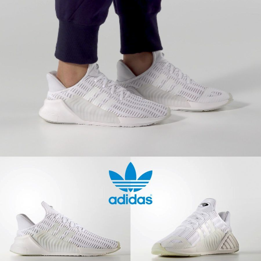 adidas originals climacool sneakers in white