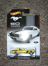 MUSTANG 50 years '67 FORD MUSTANG Mattel Hot Wheels 2014