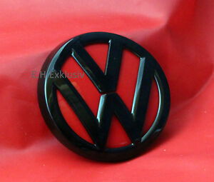 VW-GOLF-7-LOGO-EMBLEMA-Abridor-Neumatico-PORTILLA-Negro-Alto-Brillo-Rojo-Tornado