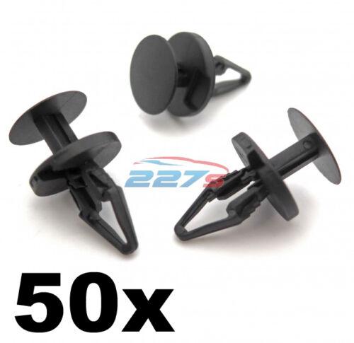 paraurti splitter e Passaruota Rivestimento Clip 50x Ford Plastica Tagliare Clip